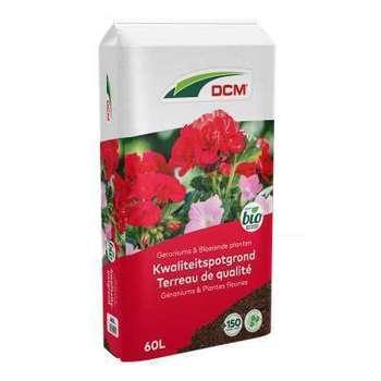 DCM Terreau Géranium & Plantes Fleuries