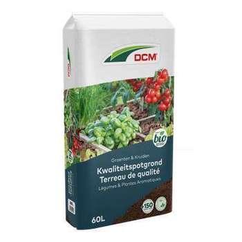 DCM Terreau Légumes et Plantes Aromatiques (Bio)
